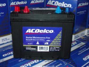 AC-Delco car battery